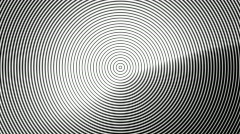 Concentric Circles NTSC Stock Footage