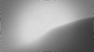 Stock Video Footage of Concentric Circles NTSC