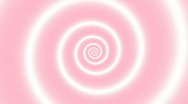 Hypnotic Pink-White Spiral Stock Footage