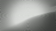 Concentric Circles PAL Stock Footage