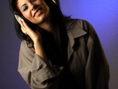 Beautiful Sexy Young Woman Listens to Music in Her Headphones 14 Stock Footage