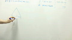 Drawing Shapes on White Board Stock Footage