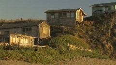 Seaside Homes Stock Footage
