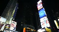 New York Times Square at Night Footage