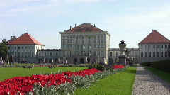 Nymphenburg Palace Stock Footage