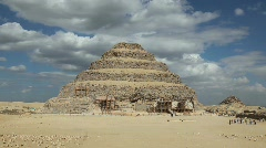 Step Pyramid in Saqqara Egypt - stock footage