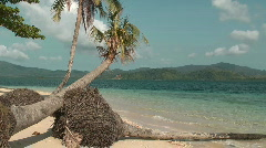 Tropical island - stock footage