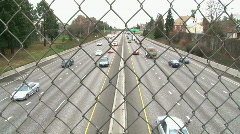 Traffic 3 Time Lapse Stock Footage