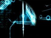 Futuristic data background Stock Footage