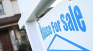 House For Sale Sign SEQUENCE Stock Footage