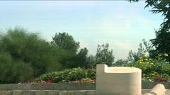 Binyamin Ze'ev Herzl grave 1 Stock Footage