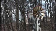 Windmill mid Stock Footage