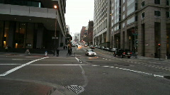 San Francisco Financial District Stock Footage