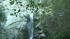 Big Santa Anita Canyon Waterfall Stock Footage