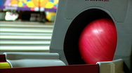 Stock Video Footage of Bowling 1405