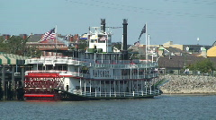 Natchez Steamboat Stock Footage