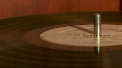 Vintage Record Player - stock footage