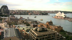 Sydney Harbor Time Lapse - stock footage