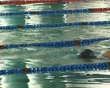 Swimming II Stock Footage