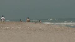 beach6 - stock footage