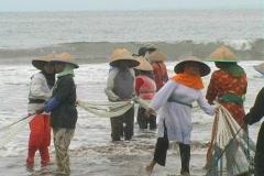 West Java Fishermen 13 Stock Footage