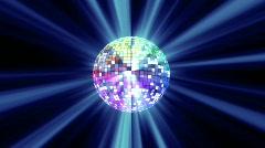 disko ball - stock footage
