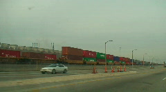 Industrial, Trains, Truks, Road Series Stock Footage