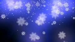 snow glow - stock footage