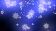Stock Video Footage of snow glow