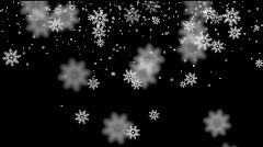 Stock Video Footage of snow