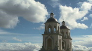 Cloud Church Time Lapse Stock Footage