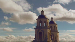 Saint Augustine Cathedral Stock Footage