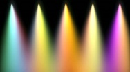 Stock Video Footage of stage light