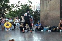 Acrobatic dances Stock Footage