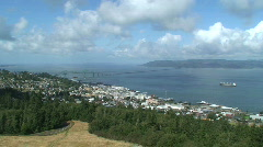 Astoria on the Columbia River Stock Footage