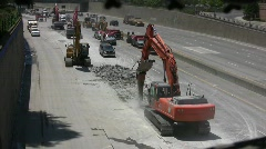 ROAD CONSTRUCTION 21 - stock footage