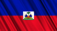 Haiti Flag Loop 01 Stock Footage