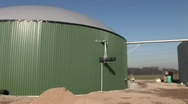 Stock Video Footage of Biogas plant