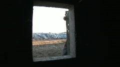 Closure A Silo Stock Footage