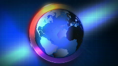 News Background 1412 Stock Footage