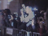 Stock Video Footage of NYFF Red Carpet Paparazzi 2004 #02