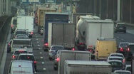 Stock Video Footage of Traffic jam timelapse Brussels