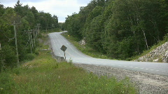 Country Highway. Stock Footage