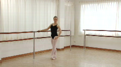 Ballet Lesson Stock Footage