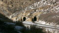 Train tunnel Stock Footage