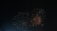 Stock Video Footage of Festival Fireworks
