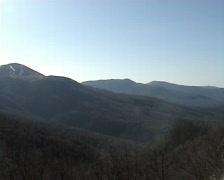 Mountain Roman Qoş Stock Footage