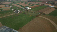 Rural Fly-Over 15 Stock Footage