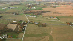 Farms in Lancaster County - stock footage