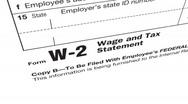 IRS W-2 Stock Footage